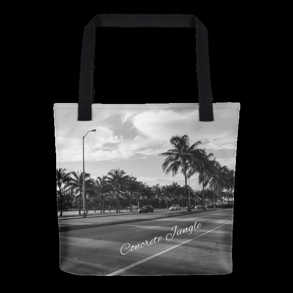 Concrete Jungle - Miami Beach, Florida - 50 Cities and counting - Carla Durham - tote bag