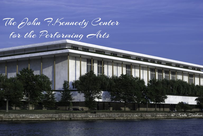 View from The Kennedy Center rooftop terrace