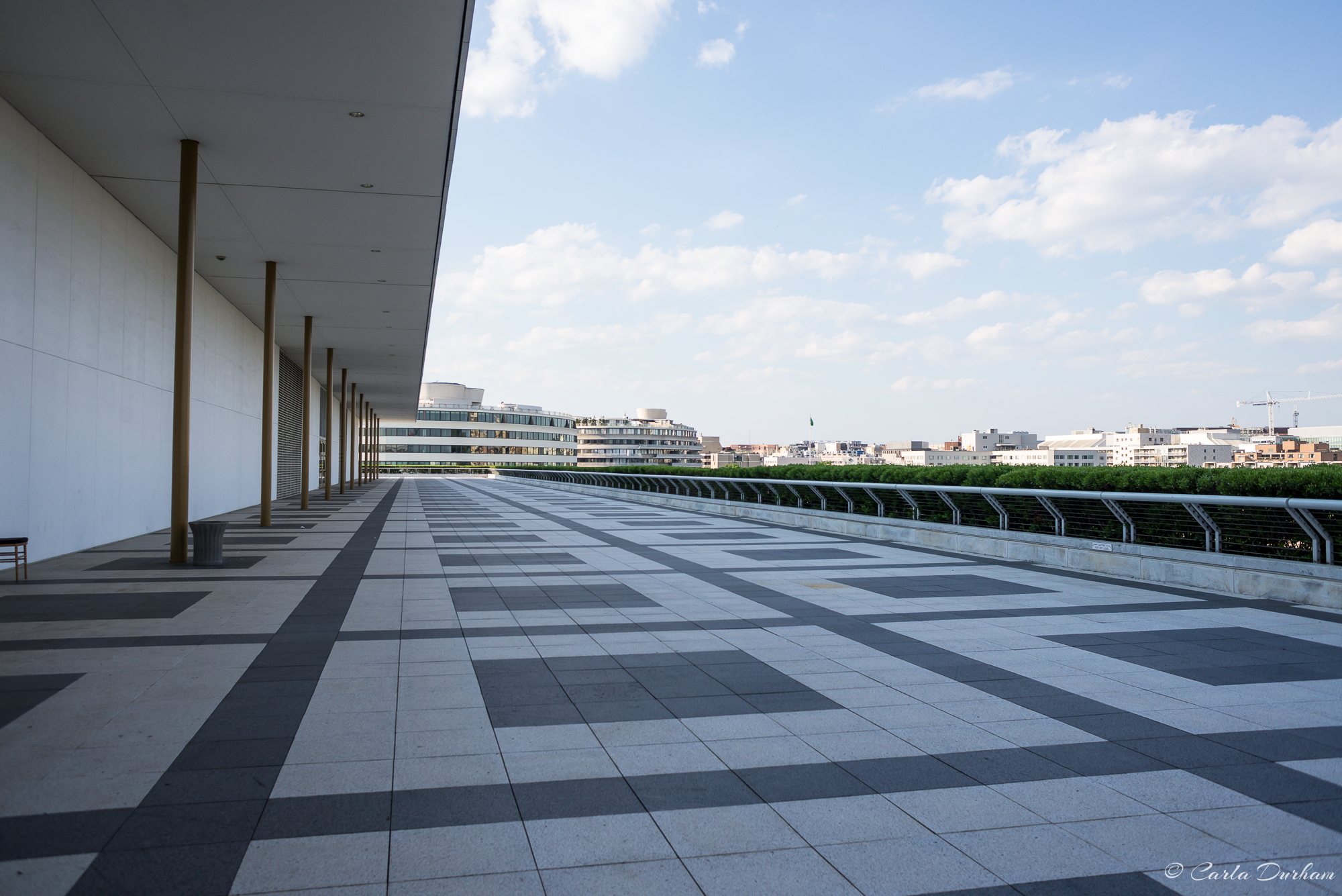 Views from the Kennedy Center roof top terrace - Photographer Carla Durham - 50 Cities and counting